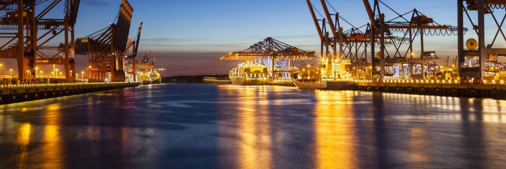 Containerplomber bruges på containere i særligt skibsfart